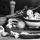 Still Life in Black and White. by Lyn Fabian