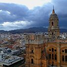 Malaga Cathedral Before Sunset by leystan