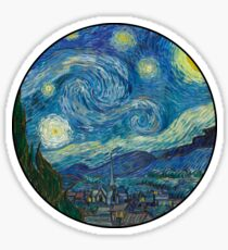 Van Gogh Sticker