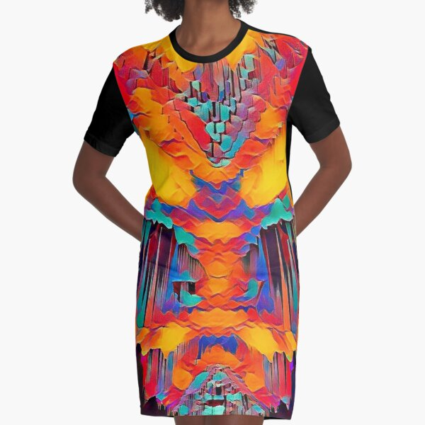 The Devil's Pipe Organ  Graphic T-Shirt Dress