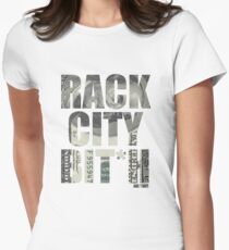 Rack City Women's Fitted T-Shirt