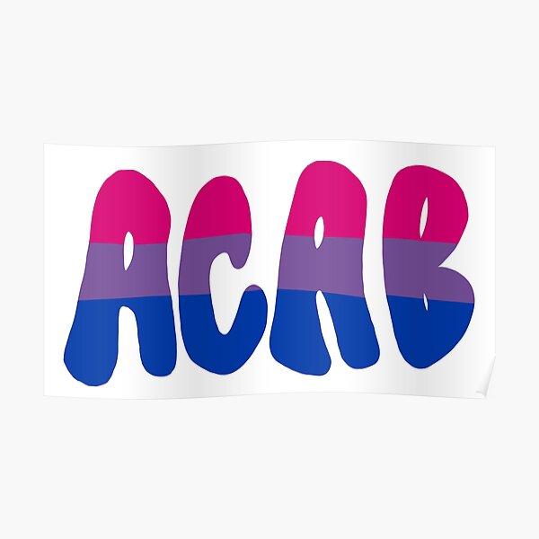 Bisexual ACAB Poster