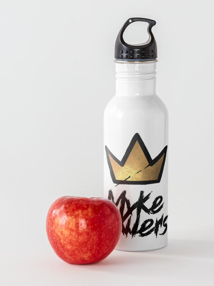 Alternate view of Myke Towers Tag & Graffiti Crown Water Bottle