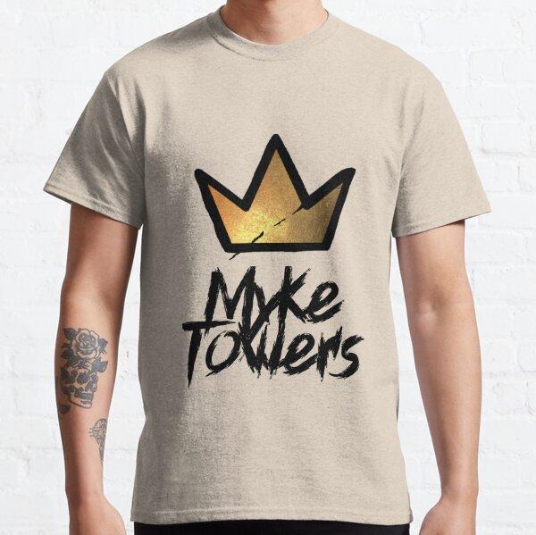 Etiqueta de Myke Towers y corona de graffiti Camiseta clásica
