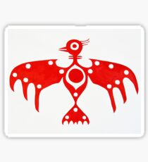 Thunderbird original painting Sticker