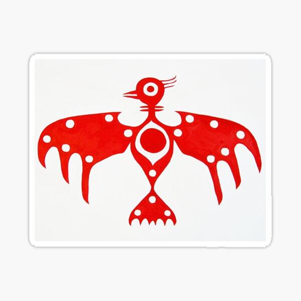 Thunderbird original painting Sticker