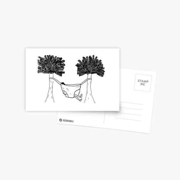 Undie Hammock Postcard