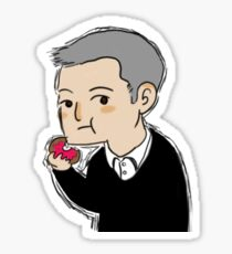 Cutiepie Lestrade Sticker