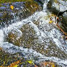 Waterfall (close up) by Russell Voigt