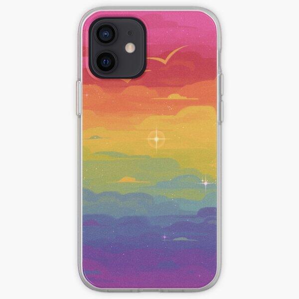 Pride Skies (Gay) iPhone Soft Case