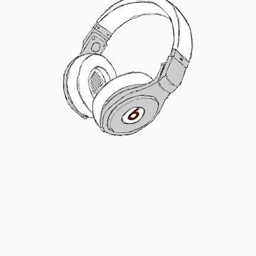 Beats Pro Headphones by WhiteCurl