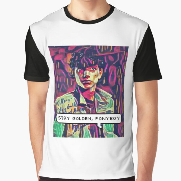 Stay Golden Ponyboy Colourful 80s Retro T Shirt By Junepillows Redbubble This group is for you to add any of your favourite pictures, i love looking at everybodys ideas so please add whatever! stay golden ponyboy colourful 80s retro t shirt by junepillows redbubble