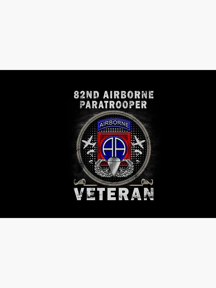 82nd Airborne Paratrooper Veteran T-shirt Men Women T-Shirt by huyenmy1213