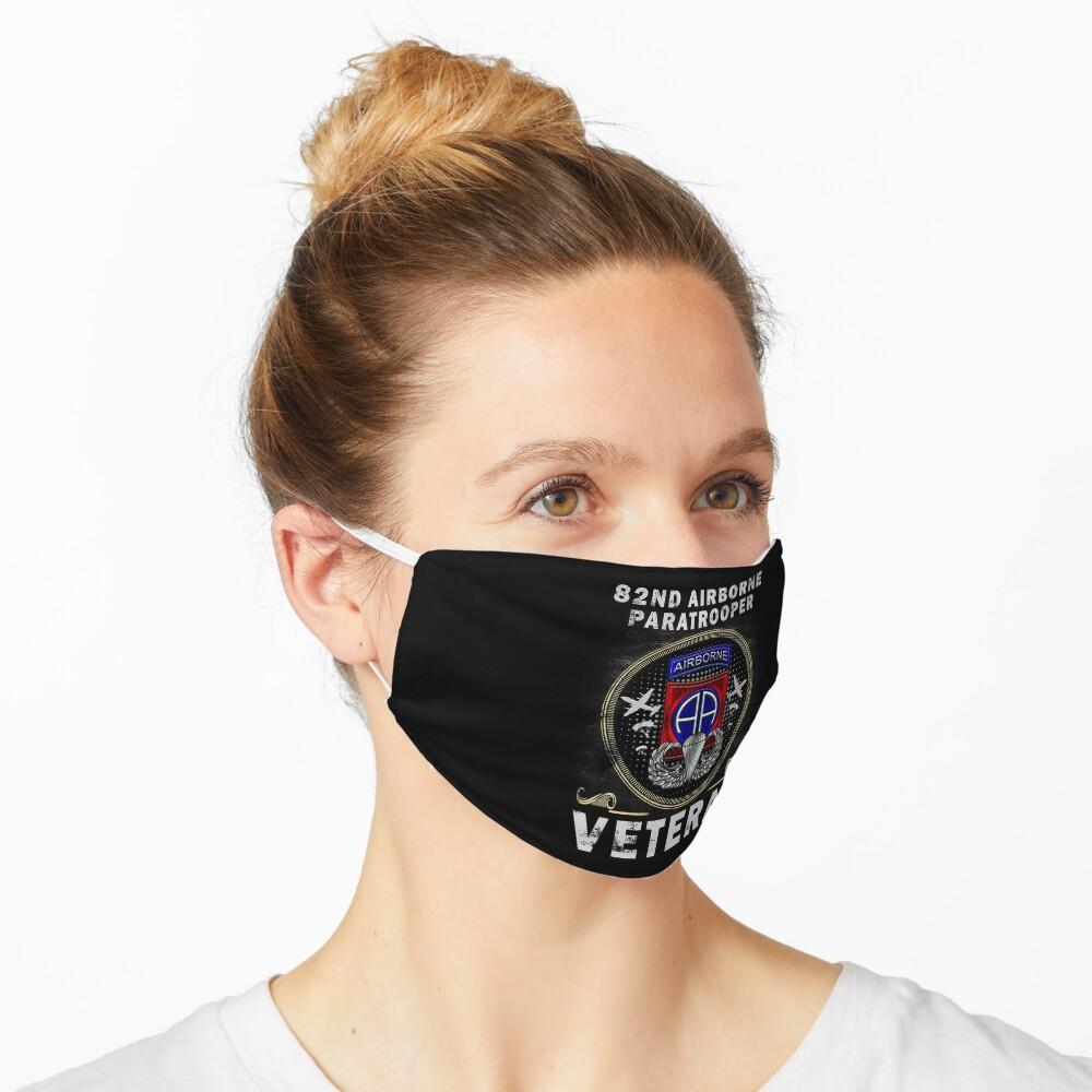 82nd Airborne Paratrooper Veteran T-shirt Men Women T-Shirt Mask