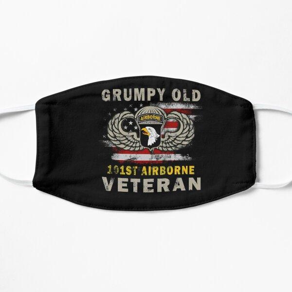 Grumpy Old 101st Airborne Division Veteran T Shirt Mask