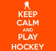 Keep Calm and Play Hockey | Unisex T-Shirt