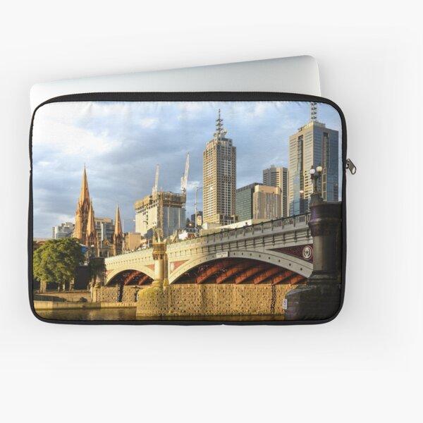 DUSK IN MELBOURNE Laptop Sleeve