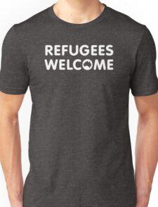 Refugees Welcome Australia (White) T-Shirt