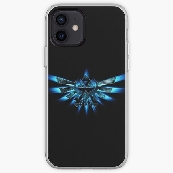 Triforce Of Courage - Blue iPod/Phone case. iPhone Soft Case