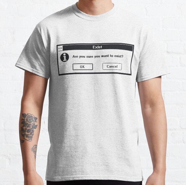 Basic Existentialism I Classic T-Shirt