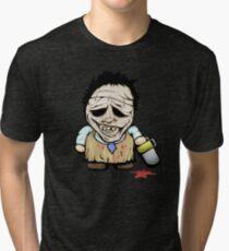 Tiny Leatherface Tri-blend T-Shirt