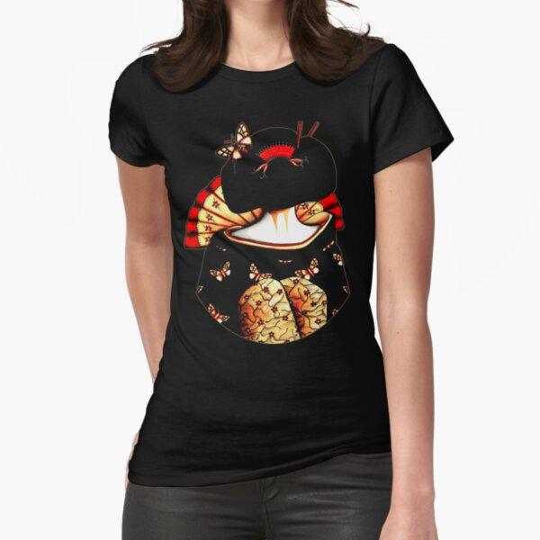 Geisha Girl TShirt Fitted T-Shirt
