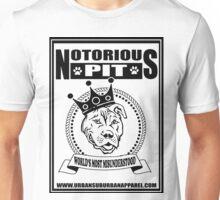 NOTORIOUS PIT BULL Unisex T-Shirt