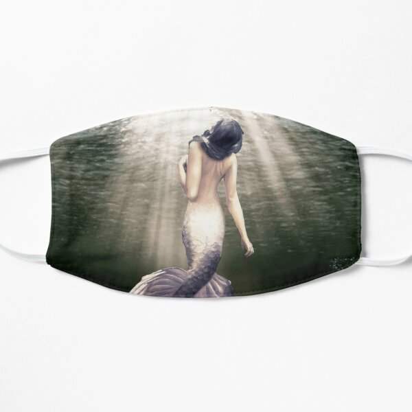 MERMAID FROM THE DEEP Flat Mask