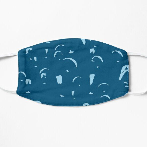 Paragliding Competition (blau) Flache Maske