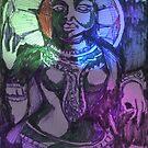 Indian Goddess statuette by Gilberte