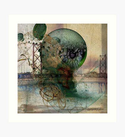 Bridge of Sighs Art Print