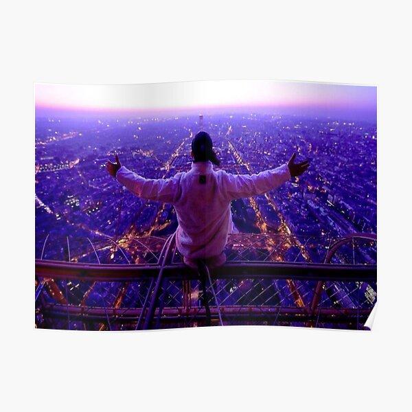Ademo PNL Tour Eiffel Poster