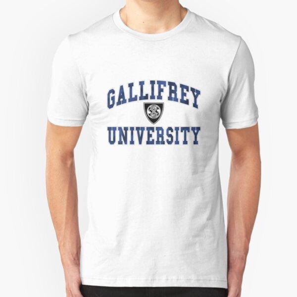 Gallifrey University Slim Fit T-Shirt