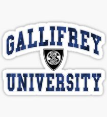 Gallifrey University Sticker