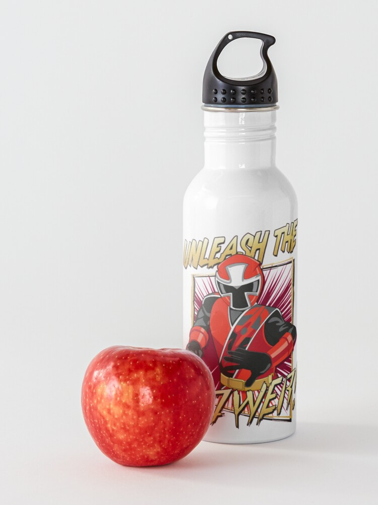 Alternate view of Red Ranger Unleashed Water Bottle