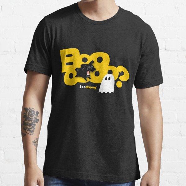 Black Pug BARKING Boo! Essential T-Shirt