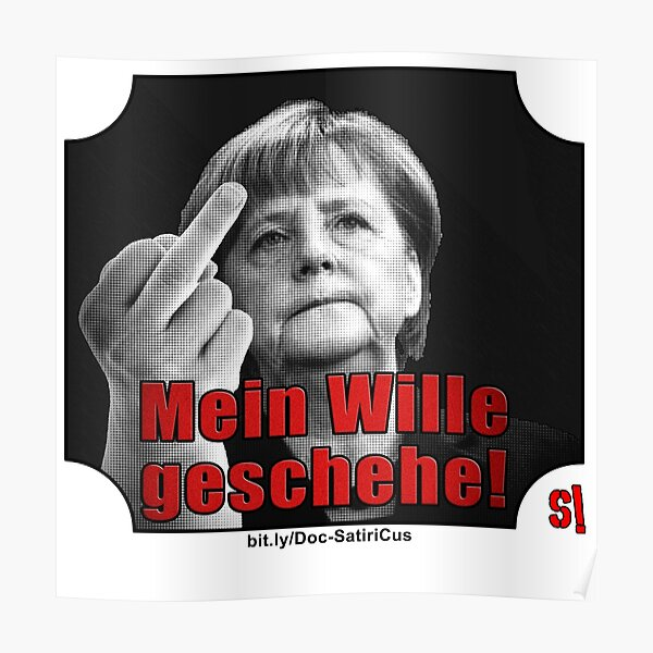 """than just """"Merkel has to go!"""" :) 