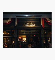 Levee Mercantile Photographic Print