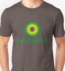 BP - Burning Planet (white) Unisex T-Shirt