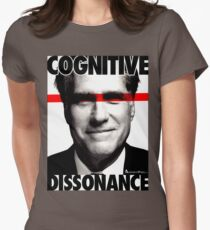 COGNITIVE DISSONANCE Womens Fitted T-Shirt
