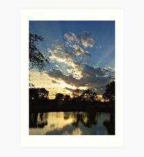 Majestic Skies Art Print