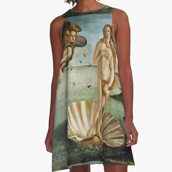 Birth of Venus - Botticelli  A-Line Dress