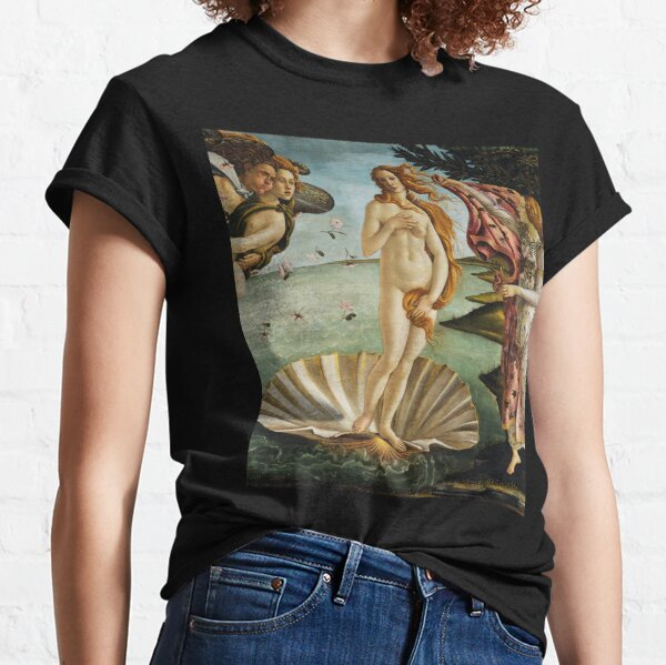 Birth of Venus - Botticelli  Classic T-Shirt
