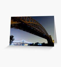 Hell Gate Bridge Greeting Card