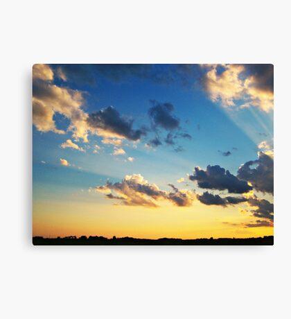 Radiant Beams Canvas Print