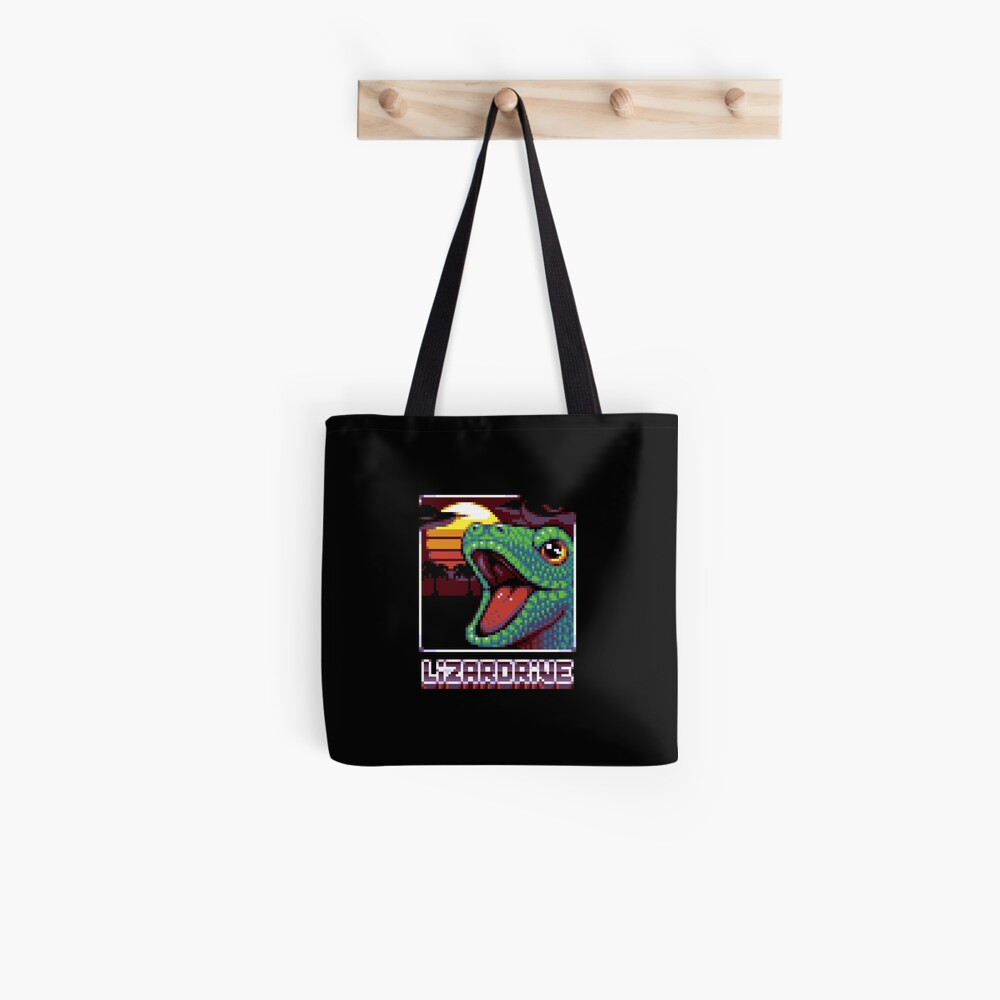Tote bag « LIZARDRIVE»