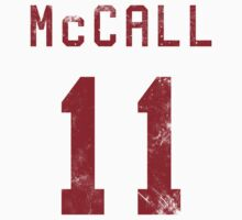 McCall Jersey- Red | Hoodie (Pullover)