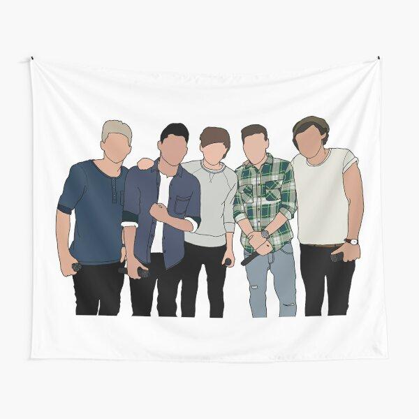 One Direction ot5 Tela decorativa