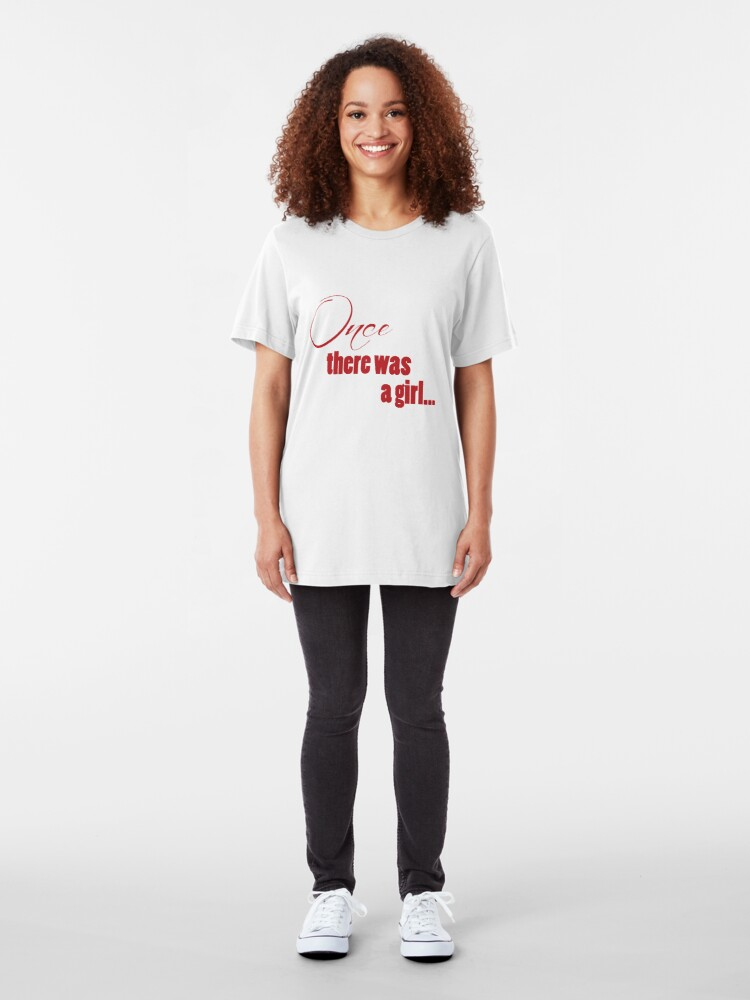 Alternate view of Once There Was A Girl Slim Fit T-Shirt