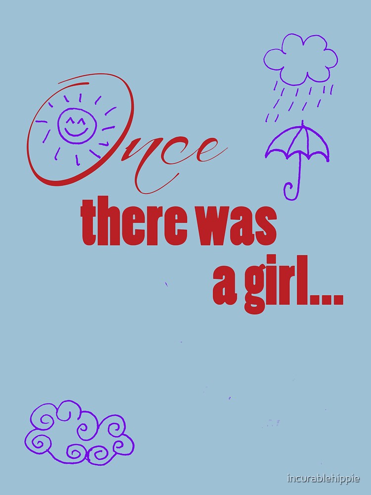 Once There Was A Girl - Embellished with Weather  by incurablehippie